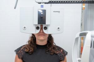 opticien examen vue namur