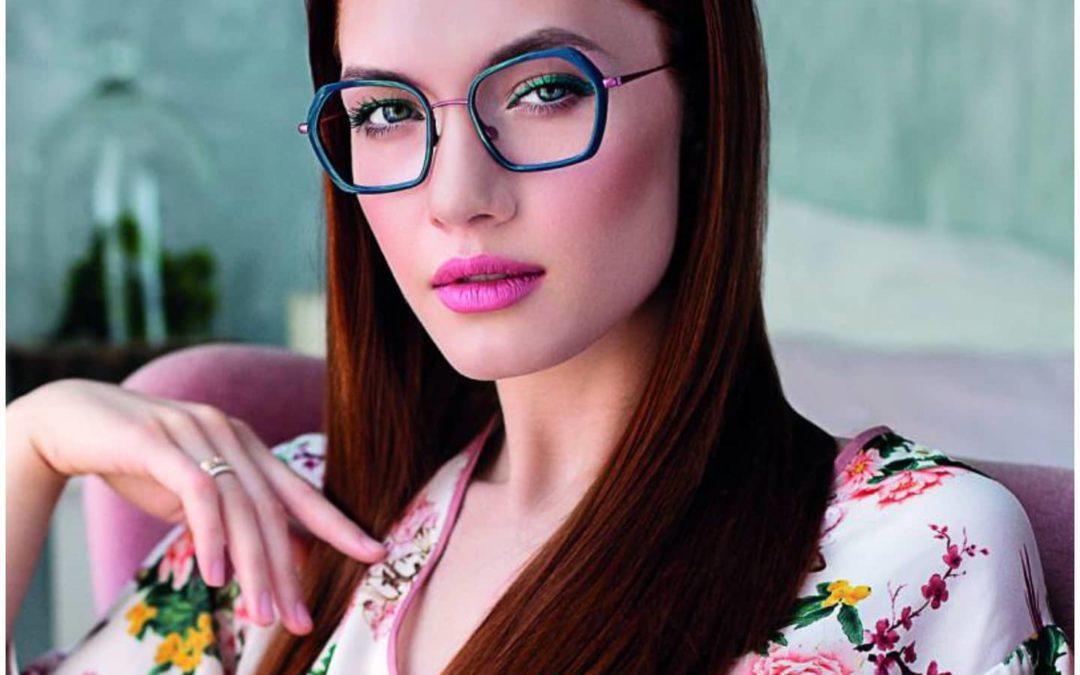 Les lunettes féminines par Caroline Abram