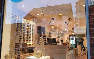 Votre magasin de lunettes se refait une beauté pour Noël !