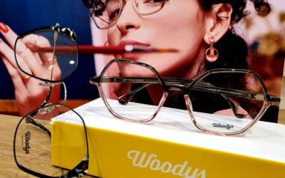 Votre opticien vous présente sa nouvelle collection WOODYS