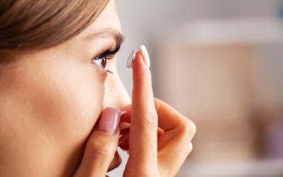 Comment bien mettre ses lentilles de contact