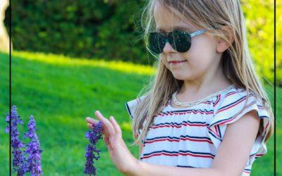 Les enfants aussi ont leur applique solaire